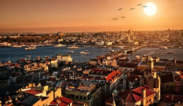 Istanbul cityscapes city skyline landscapes skyscrapers HD wallpaper