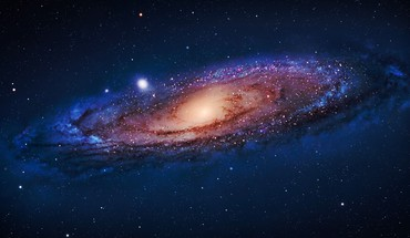 Andromeda galaxy galaxies outer space stars HD wallpaper