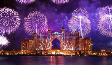 feux d'artifice Dubaï  HD wallpaper