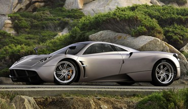 Pagani voitures huayra mur  HD wallpaper