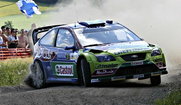 Focus WRC World Rally Championship дрейфующих автомобилей  HD wallpaper