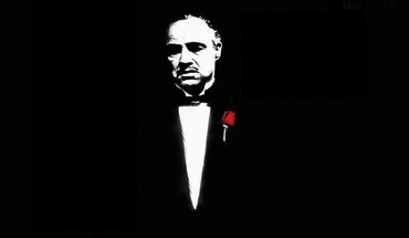 Marlon brando the godfather actors black minimalistic HD wallpaper