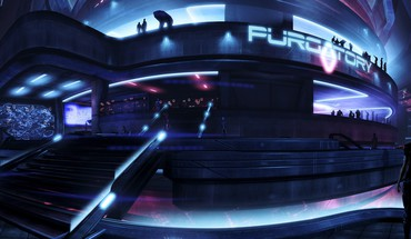 Mass effect 3 purgatory citadel (mass effect) HD wallpaper