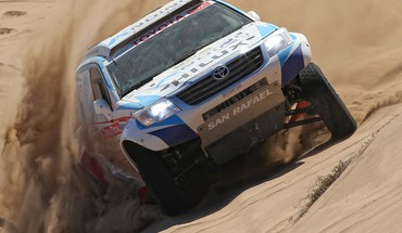 Desert rally racing dakar peter lusk HD wallpaper