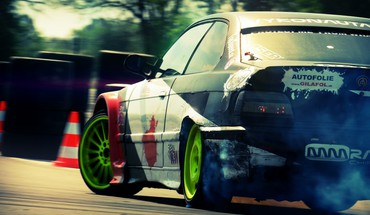 Bmw e36 m3 tv shows drifting cars HD wallpaper