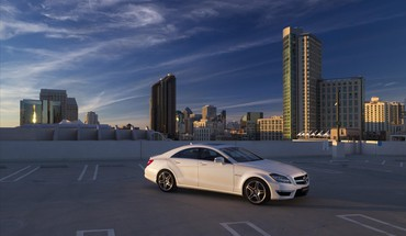 Mercedesbenz mercedes benz cls63 amg white HD wallpaper