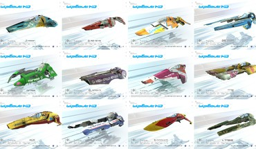 Wipeout hd collage fan art feisar HD wallpaper