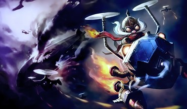 Videospiele Wolken league of legends Schlachten Corki  HD wallpaper