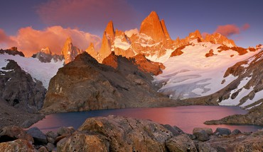 Park mount patagonia los glaciares fitz roy HD wallpaper