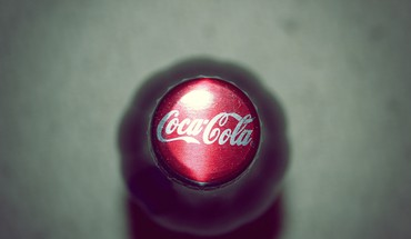 Cocacola bottles macro HD wallpaper