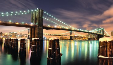 Brooklyn bridge york HD wallpaper