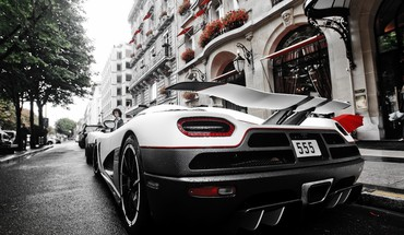 Sports rear view super angle agera r HD wallpaper