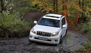 Suv toyota prado automobiles cars offroad HD wallpaper