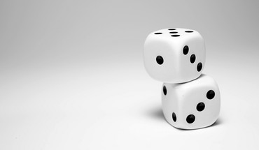 Dice minimalistic HD wallpaper