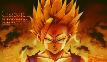 Dragon ball z dragonball gohan sangohan son HD wallpaper