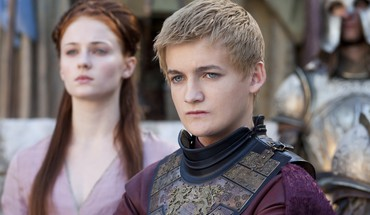 Joffrey Baratheon Sansa Stark actrice Sophie Turner  HD wallpaper