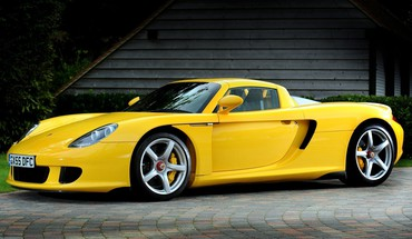Supercars porsche Carrera GT  HD wallpaper