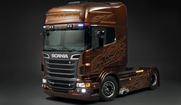 Scania trucks HD wallpaper
