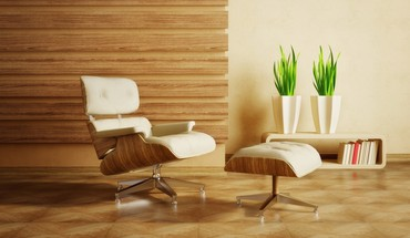 3d eames lounge chairs furniture interior HD wallpaper