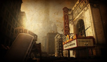 Chicago theatre HD wallpaper