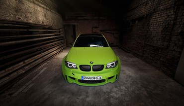 Series m coupe carbon fiber cars green HD wallpaper