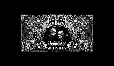 Jack daniels alcohol black background bottles drinks HD wallpaper