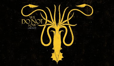 Game of thrones house greyjoy squid HD wallpaper