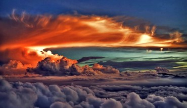 Nuages ​​photographie HDR air Skyscapes ciel  HD wallpaper