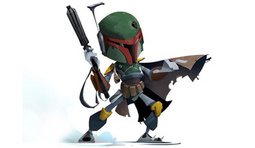 Boba Fett star wars Bounty Hunter baltas fonas  HD wallpaper