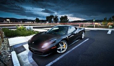 Automobiliai ferrari 458 italia  HD wallpaper