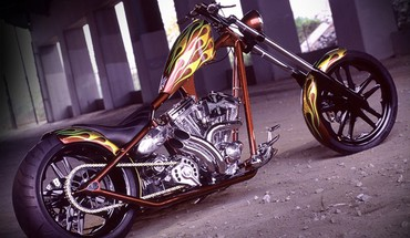 Motociklai West Coast Choppers  HD wallpaper
