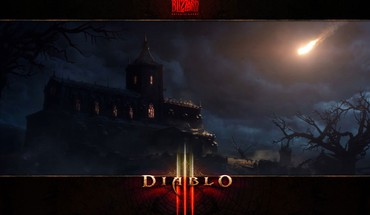 Blizzard entertainment diablo iii tristram falling HD wallpaper