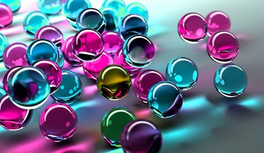 Colors marbles HD wallpaper