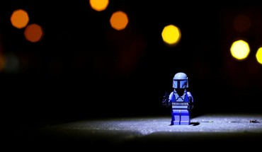 Legos mandalorian bricks childhood children HD wallpaper