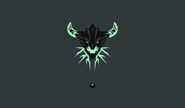 Simplistic simple background dota 2 outworld devourer HD wallpaper