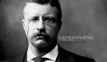 Theodore roosevelt faces grayscale quotes text HD wallpaper