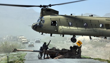 United states army aircraft chinook HD wallpaper