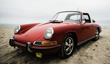Porsche 911 beaches cars HD wallpaper
