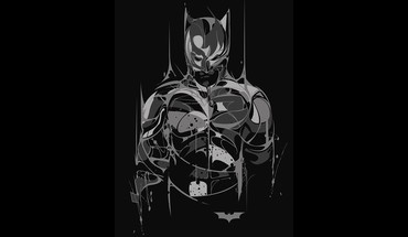 Batman bruce wayne dc comics bat black background HD wallpaper
