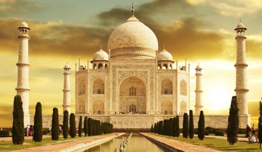 India taj mahal memorial oriental HD wallpaper