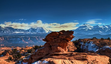Moab utah mountains  HD wallpaper