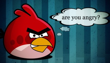 Angry birds red bird video games HD wallpaper