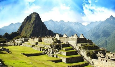 Machu picchu cityscapes HD wallpaper