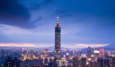 Taipei 101 architecture HD wallpaper