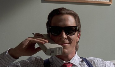 Bale sunglasses patrick bateman movie stills phones HD wallpaper