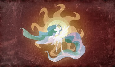 My little pony princess celestia HD wallpaper