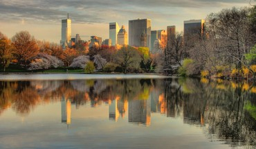 Nyc always looks best from central park hdr HD wallpaper