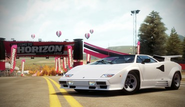 Video games lamborghini countach forza horizon 1988 HD wallpaper