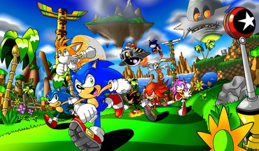 Sonic past HD wallpaper