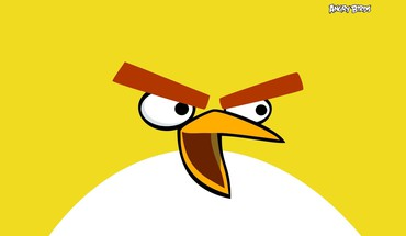 Angry birds abstract minimalistic HD wallpaper